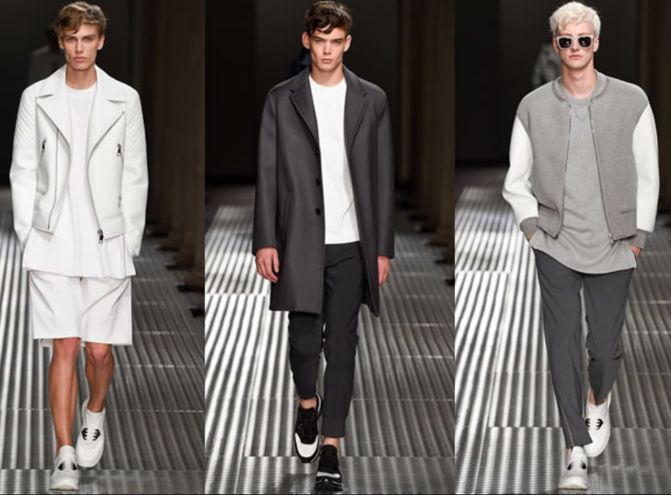men minimalist fashion