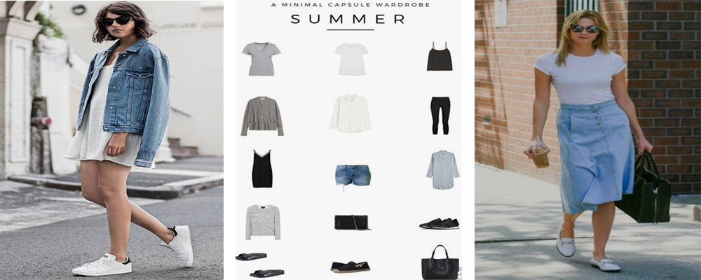 Essential Buying Guide for your Summer Minimalist Capsule Wardrobe
