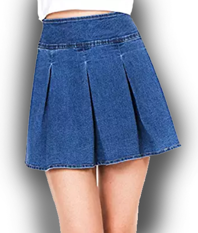 Megan apparel Women Denim Skirt